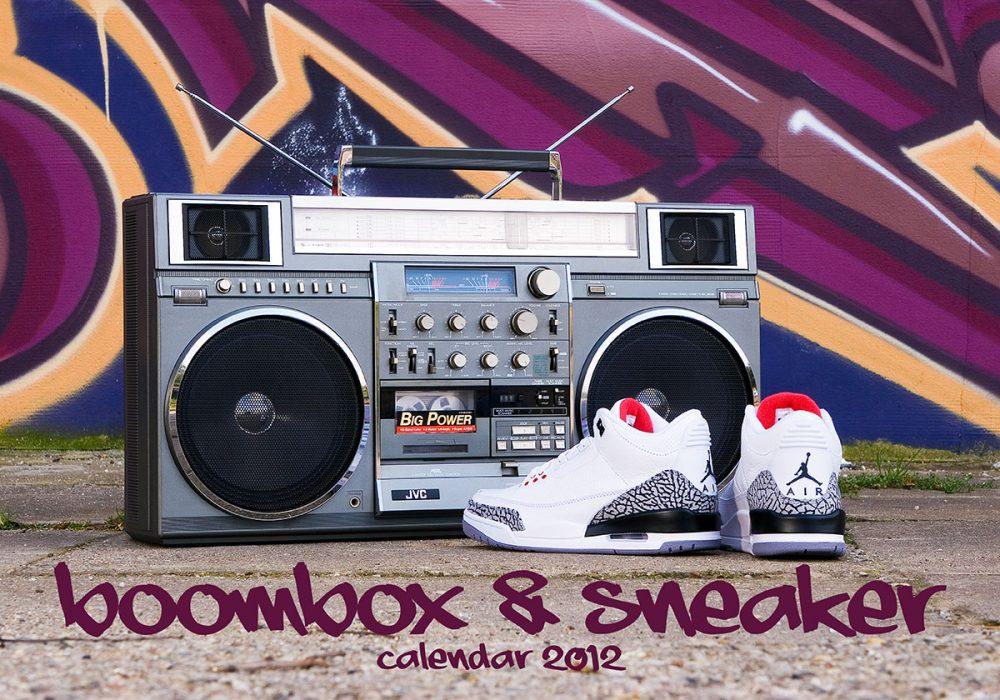 boombox & sneaker calendar 2012 - title
