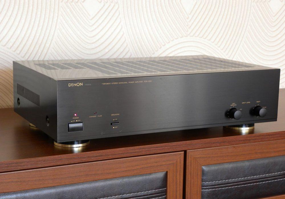 DENON POA-800 后级放大器