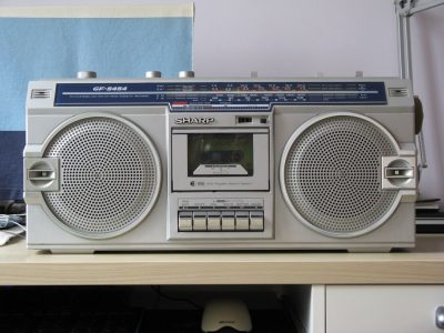 夏普 SHARP GF-5454 单卡四喇叭立体声收录机