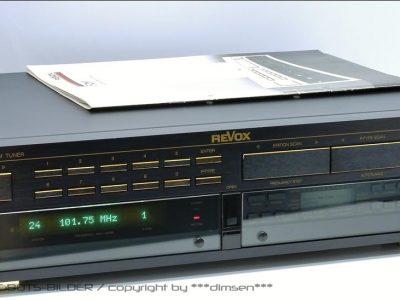 REVOX B260-S FM收音头