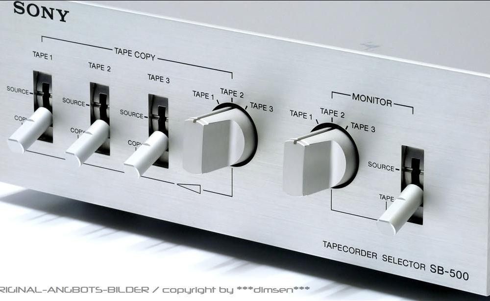 索尼 SONY SB-5000 音源信号切换分配器