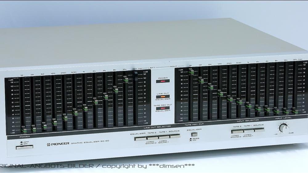 先锋 PIONEER SG-60 图形均衡器