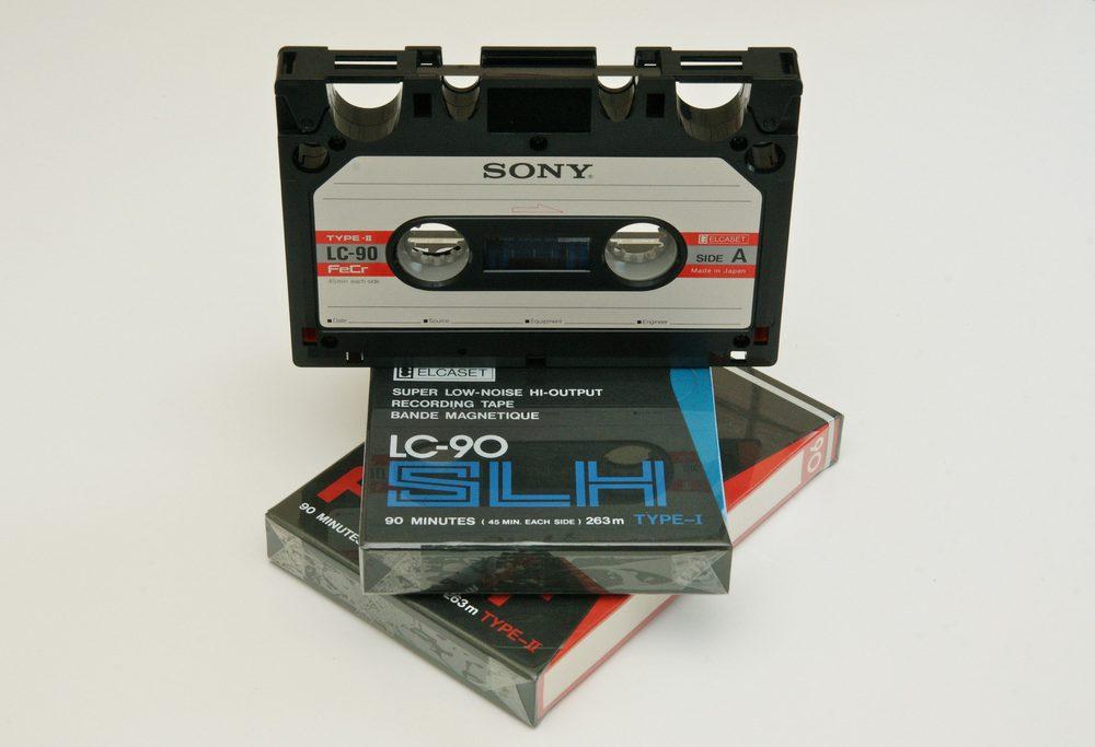 开盘带、空白录音磁带合集