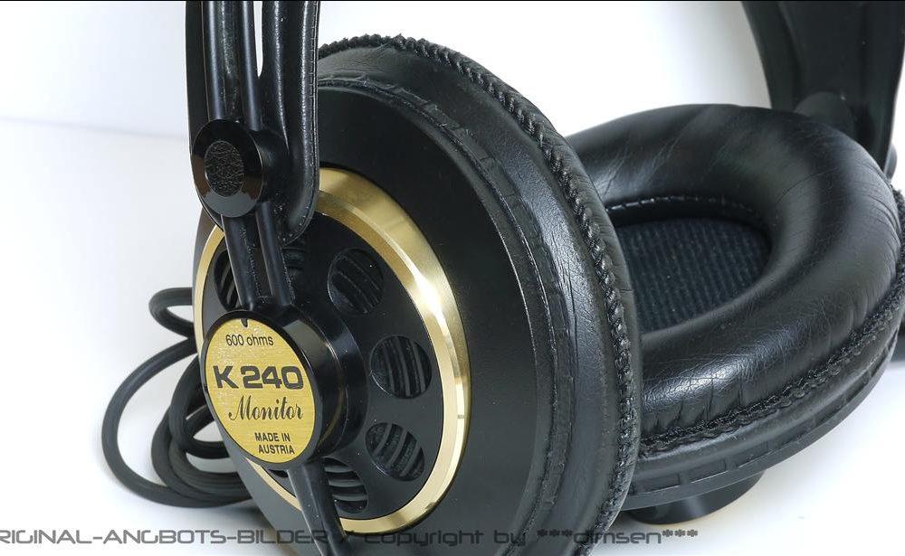 AKG K-240 MONITOR 监听级头戴耳机