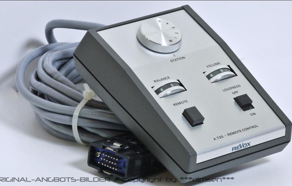 REVOX A720 前级放大器 遥控器