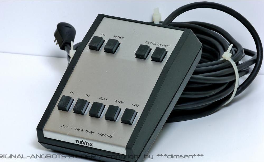 REVOX B77 开盘机 线控 遥控器