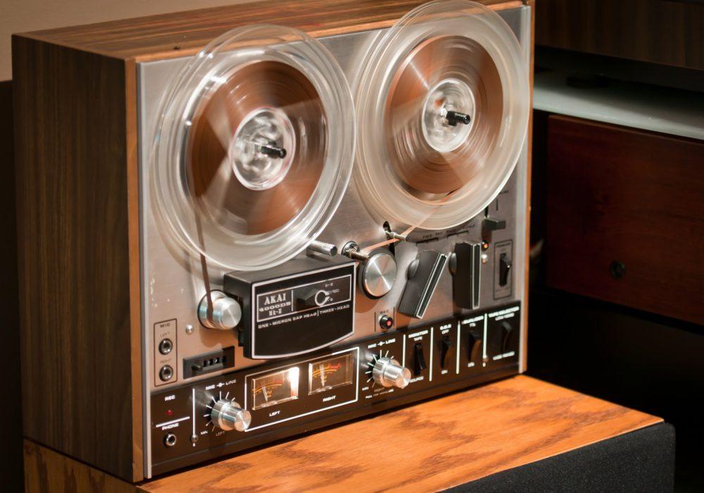 雅佳 AKAI 4000DS Mk-II 开盘机 (1979)