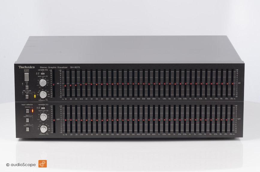 Technics SH-8075 33-Band EQ