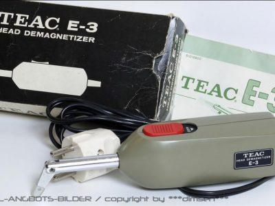 TEAC E-3 磁头消磁器