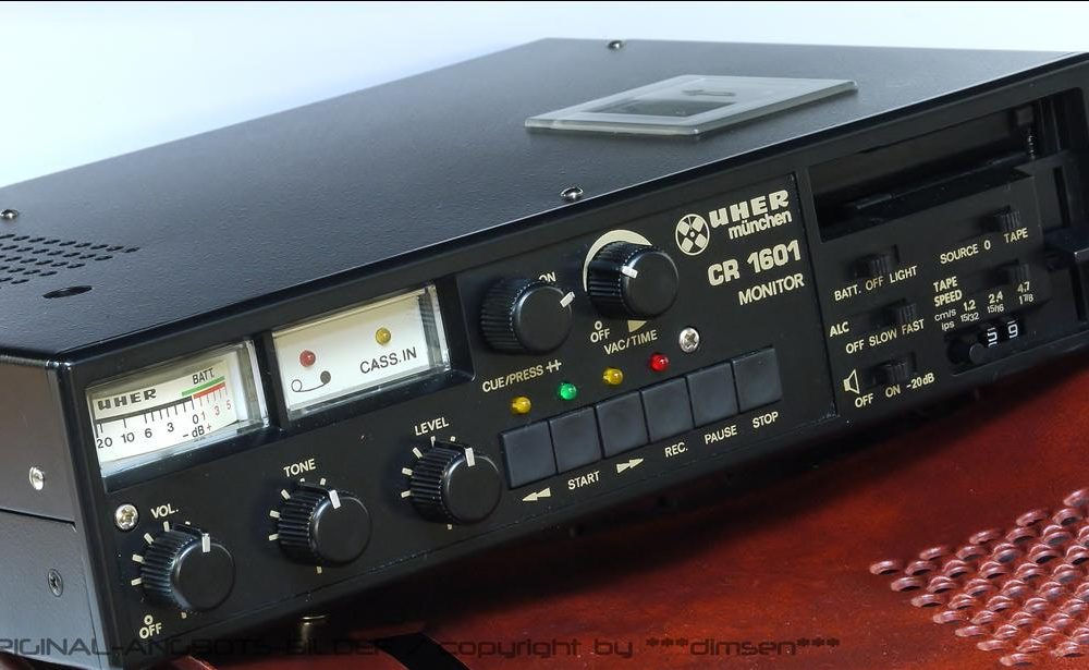 UHER CR1601 便携录音机