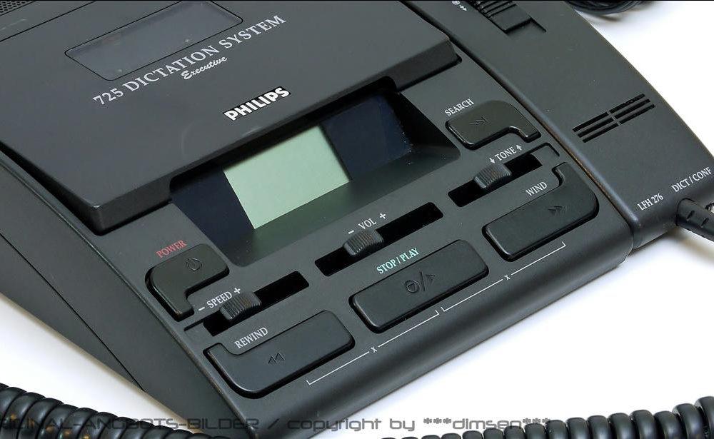 飞利浦 PHILIPS LFH725 口述记录设备