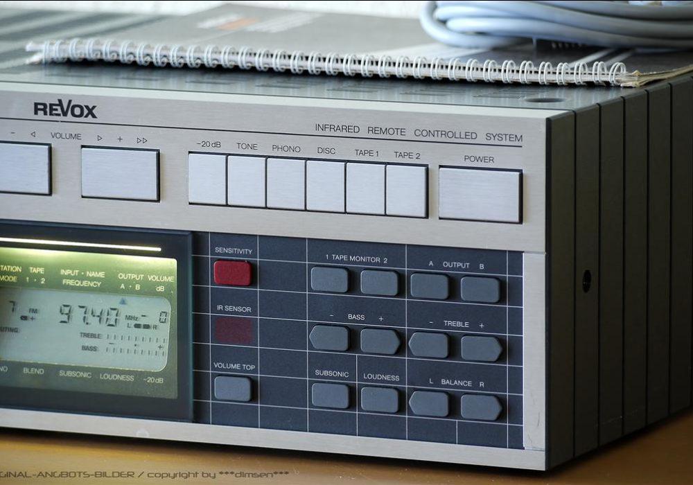 REVOX B286 收音头/前级功放