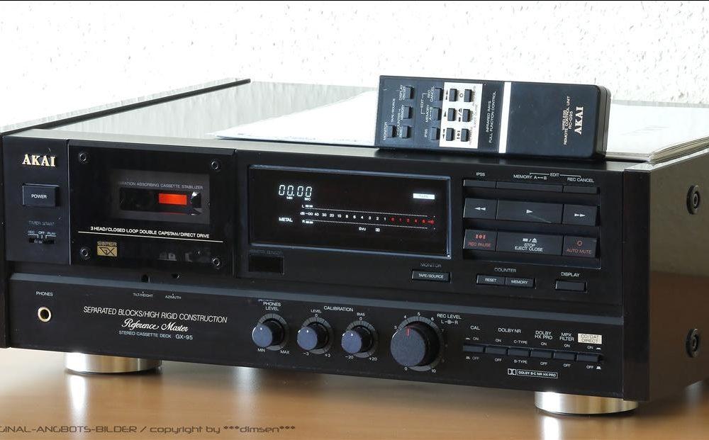 雅佳 AKAI GX95 3磁头卡座