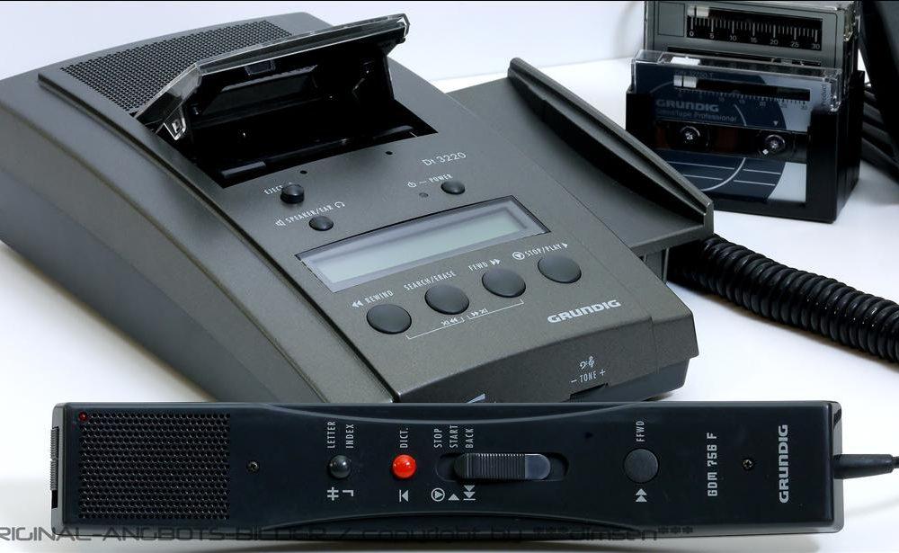 根德 GRUNDIG DT3220 微型磁带录音机