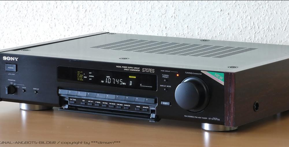 索尼 SONY ST-S707ES FM/AM 数字调谐 收音头
