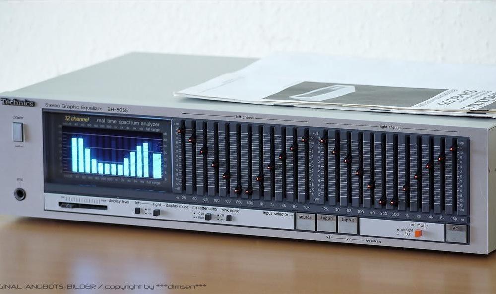 松下 Technics SH-8055 图形均衡器 (银色)