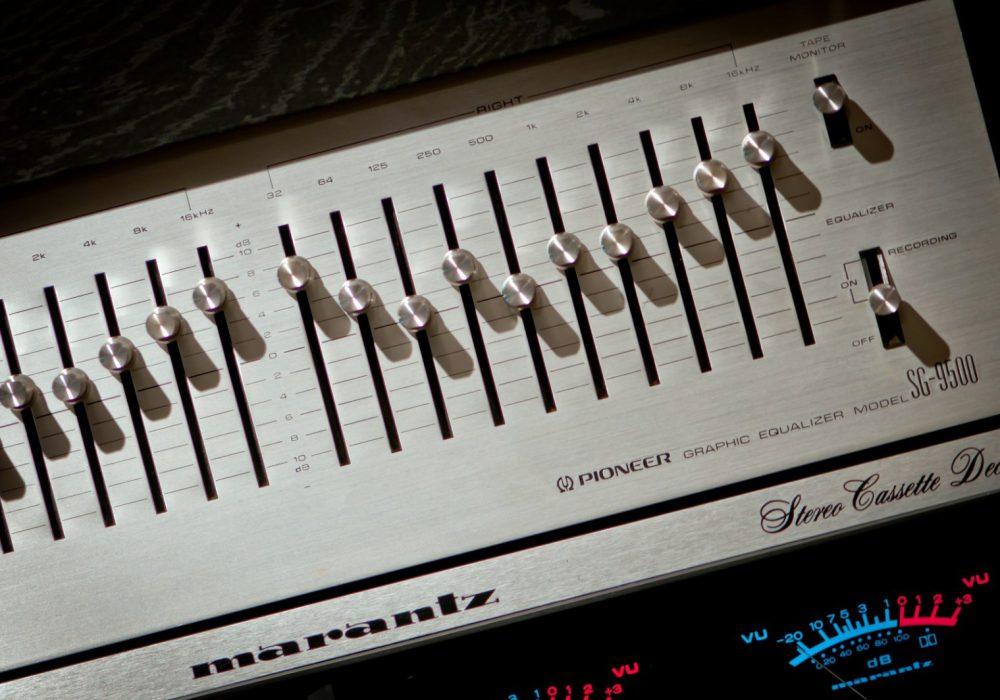 先锋 PIONEER SG-9500 图示均衡器(1978)
