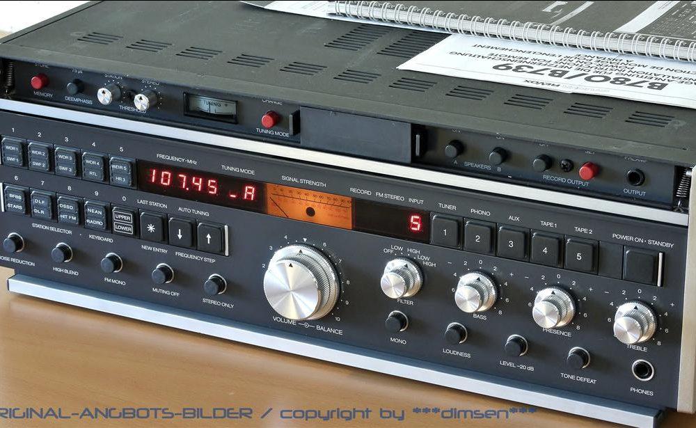 REVOX B780 高级收音头