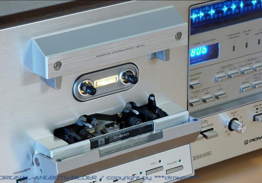 先锋 PIONEER CT-F950 三磁头古典卡座