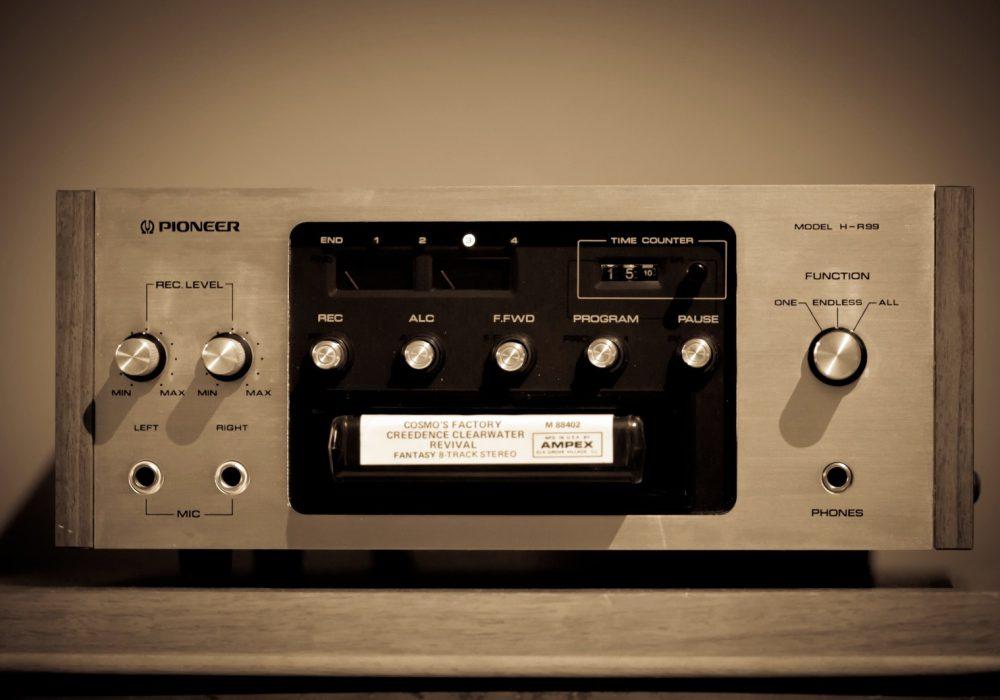 先锋 PIONEER H-R99 8-Track 磁带录放机 (1974)