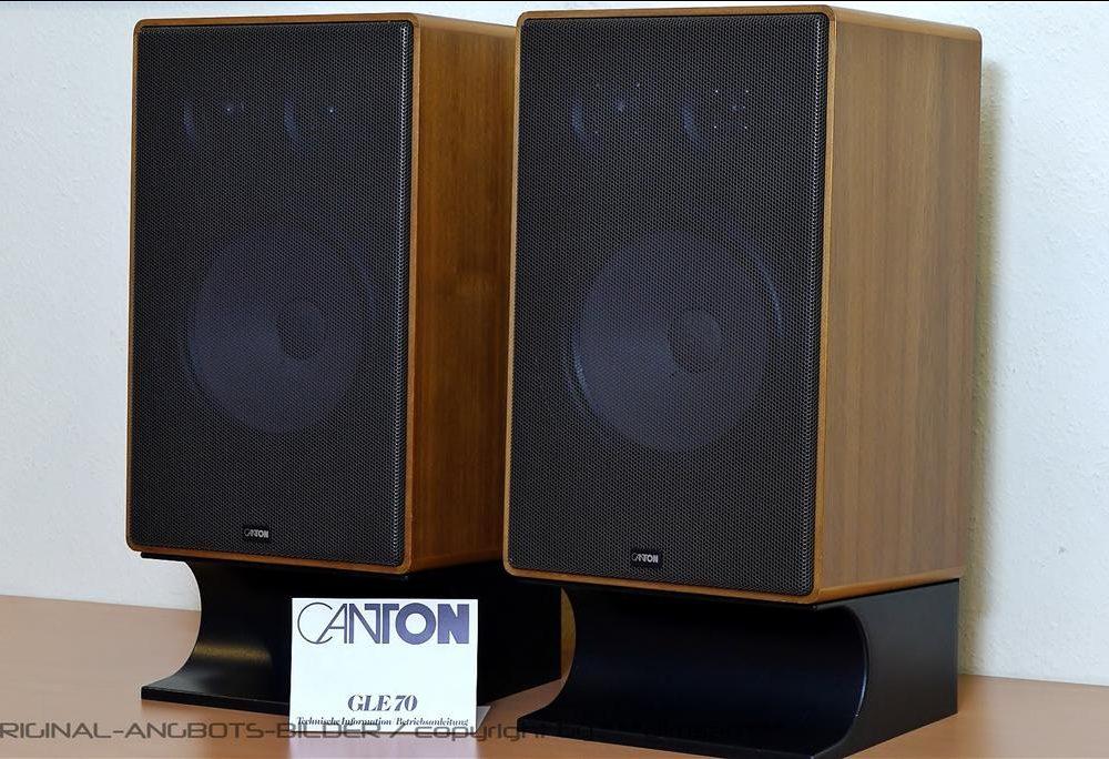 CANTON GLE 70 古典书架音箱