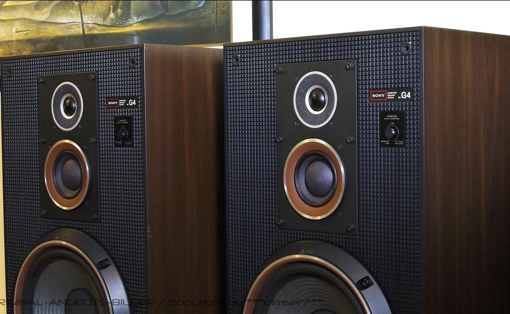 索尼 SONY SS-G4 落地音箱