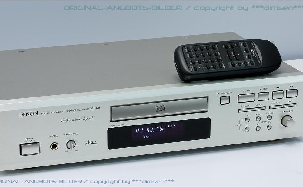天龙 DENON DCD-685 CD机
