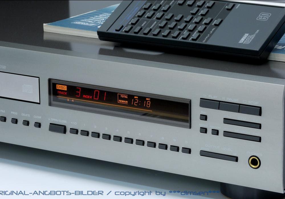 雅马哈 YAMAHA CDX-930 CD播放机