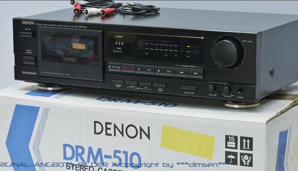 天龙 DENON DRM-510 卡座