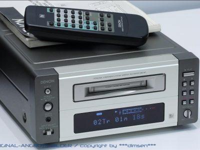 天龙 DENON DMD-M7 桌面小MD台机