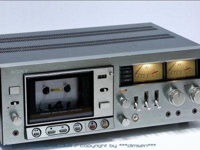索尼 SONY TC-K7BII 双表头古典卡座