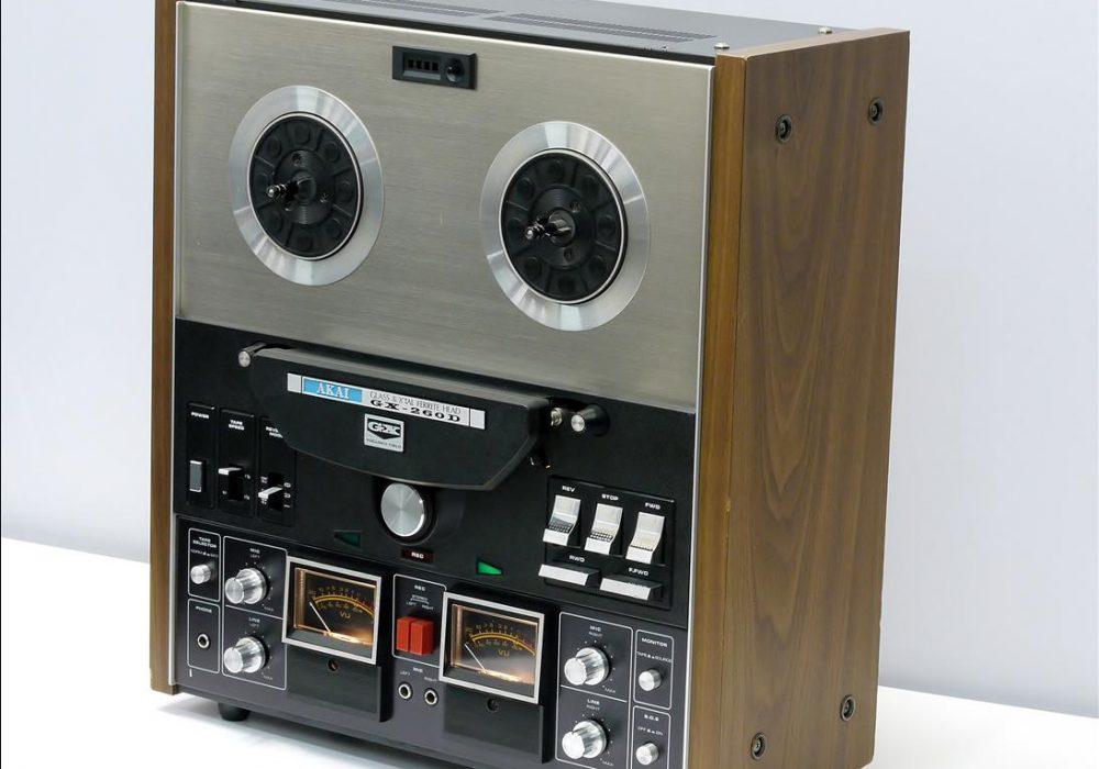 雅佳 AKAI GX-260D 开盘机