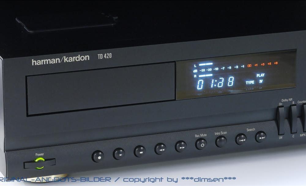 哈曼卡顿 Harman Kardon TD-420 卡座