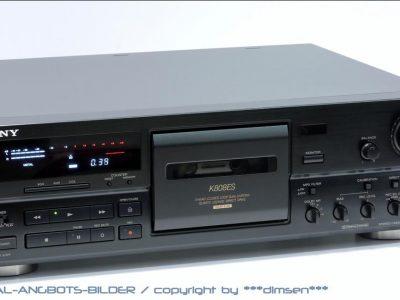 索尼 SONY TC-K808ES 三磁头卡座