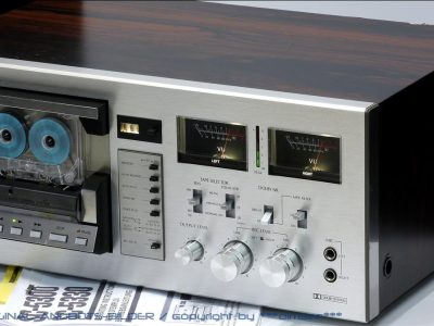 山水 SANSUI SC-5300 双表头古典卡座
