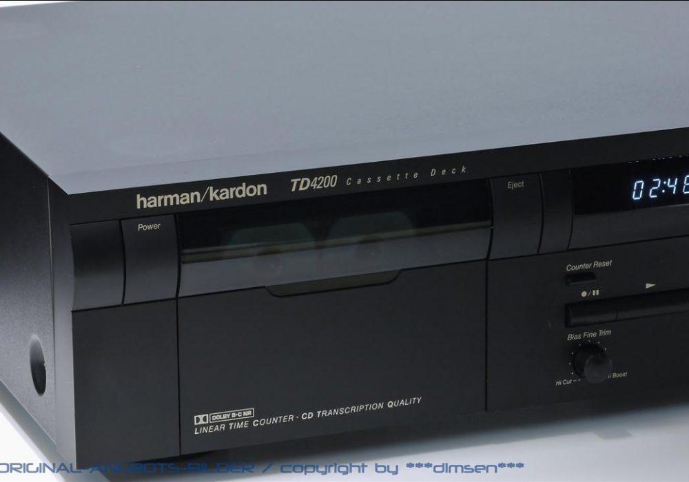 哈曼卡顿 Harman Kardon TD4200 卡座