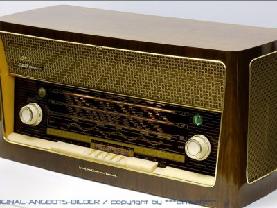 根德 GRUNDIG 4090 古董电子管收音机