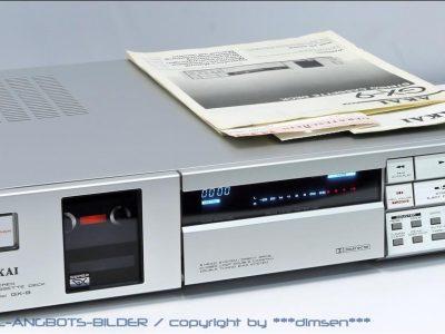 银面雅佳 AKAI GX-9 三磁头超薄卡座