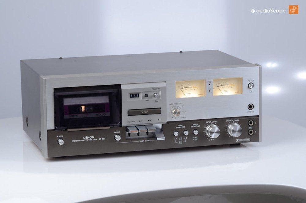 DENON DR-350, original Box
