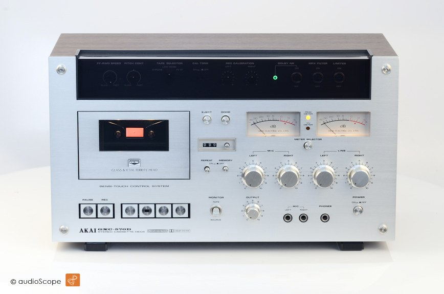 AKAI GXC-570D 卡座