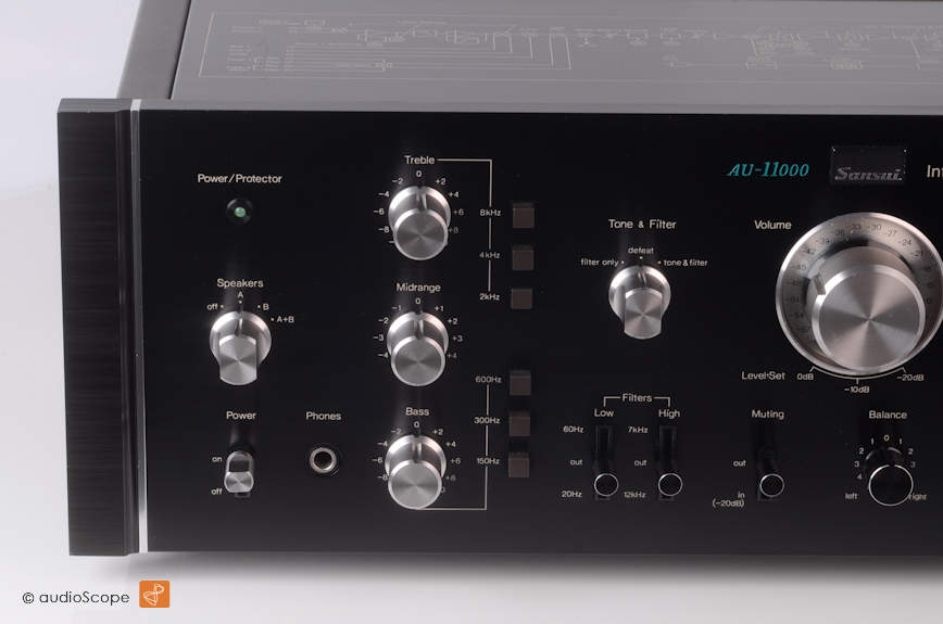 山水 SANSUI AU-11000 Amplifier