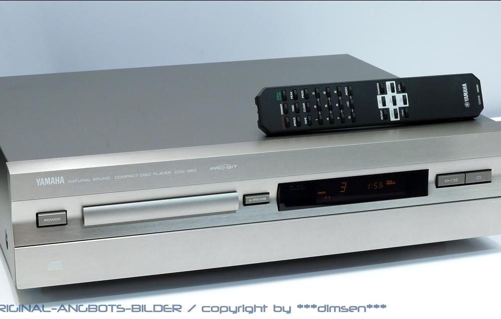 雅马哈 YAMAHA CDX-993 CD唱机