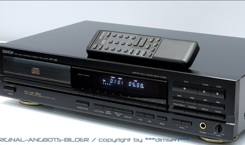 天龙 DENON DCD-980 CD唱机