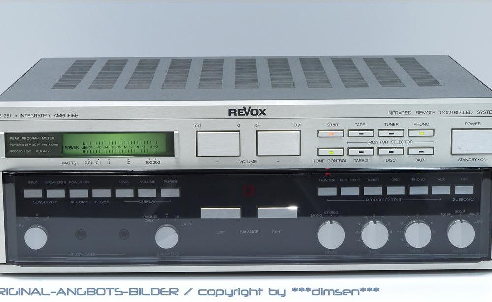 REVOX B251 合并式功率放大器