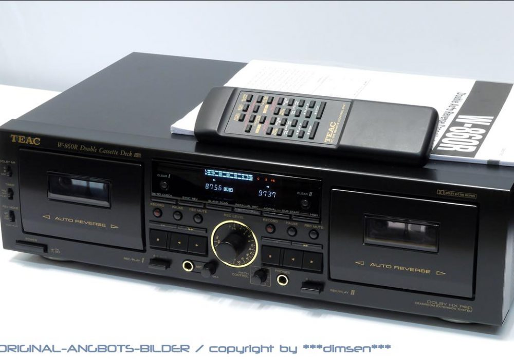 TEAC W-860R 双卡座