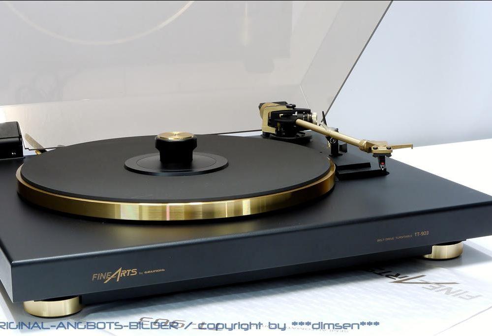 GRUNDIG FINEARTS TT-903 黑胶唱机