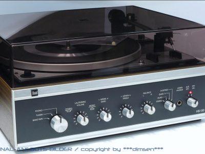 DUAL HS-130 黑胶唱机