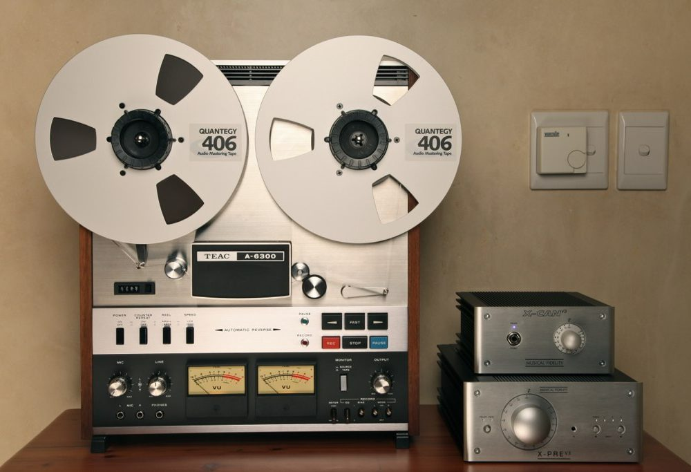 Teac A-6300 Reel To Reel Recorder (1976)