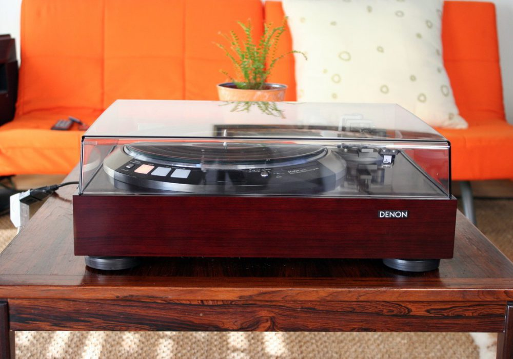 DENON DP-60L Direct Drive 黑胶唱机