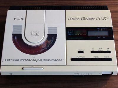 飞利浦经典神器:CD207 CD机(嫁出) – 广安经典音响